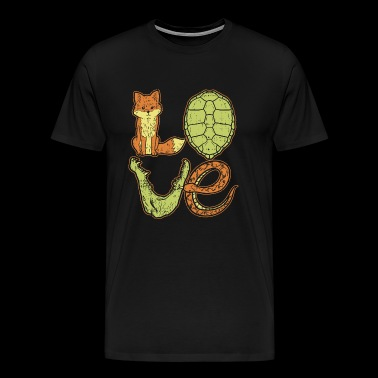 Animal Love Vet Veterinarian Animal Gift - Men's Premium T-Shirt