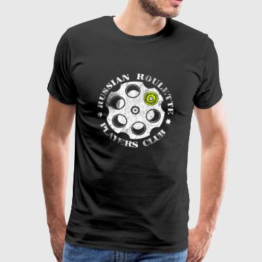 Russisk Roulette Players Club - Herre premium T-shirt