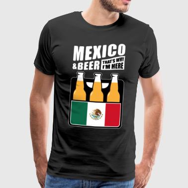 Mexique et Beer - Mexique Maillot de football fan - T-shirt Premium Homme