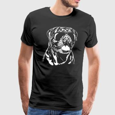 DOGUE DE BORDEAUX cool - Männer Premium T-Shirt