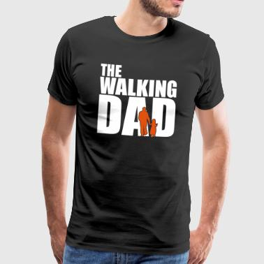 The Walking Dad vatertag geschenk - Männer Premium T-Shirt