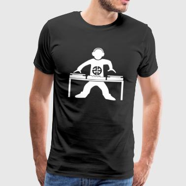 Dj 23 tekno - Men's Premium T-Shirt