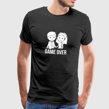 Marié! Game over! - T-shirt Premium Homme