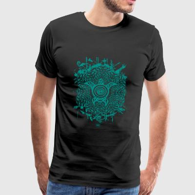 confused turtle - Men's Premium T-Shirt