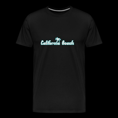 California Beach - Mannen Premium T-shirt