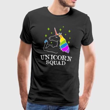 Unicorn Squad - Gym Fitness - T-shirt Premium Homme