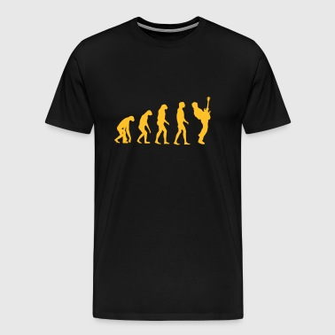 bass player evolution - T-shirt Premium Homme