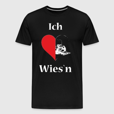 I love Wiesn - Männer Premium T-Shirt