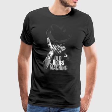 15-7 OLD BLUES MACHINE-Textiel en cadeau-producten - Mannen Premium T-shirt
