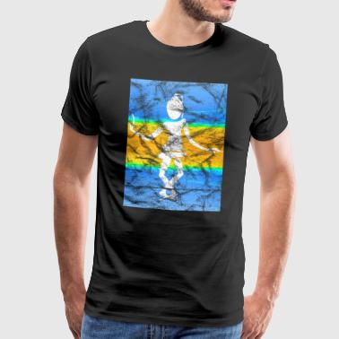 Dance Dancer Abstract Vintage - Men's Premium T-Shirt