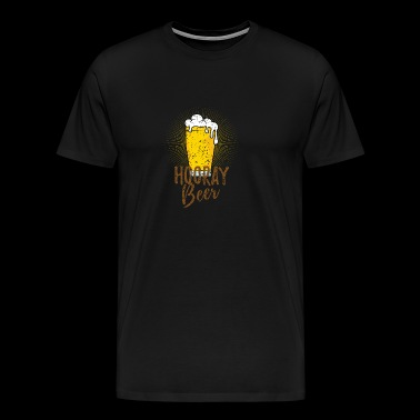 Hurra Beer! En flott gave. - Premium T-skjorte for menn