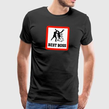 Best Boss - Männer Premium T-Shirt