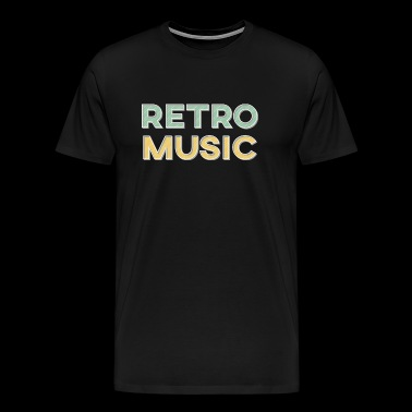 Retro Music - Retro Style - Men's Premium T-Shirt