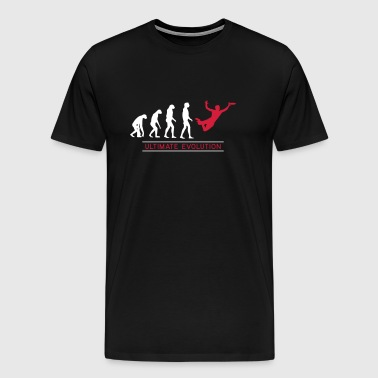 Ultimate Frisbee Evolution - Männer Premium T-Shirt