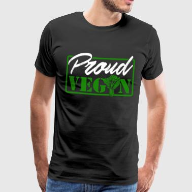 Proud Vegan - Men's Premium T-Shirt