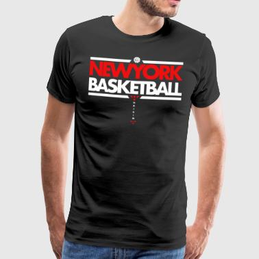 Horikima NY Basketball Men's T-Shirt - Men's Premium T-Shirt