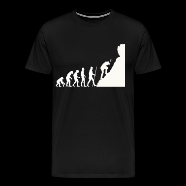 Mountaineer Evolution - Men's Premium T-Shirt