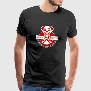 Clown Hunter - No More Funny Business - Men's Premium T-Shirt