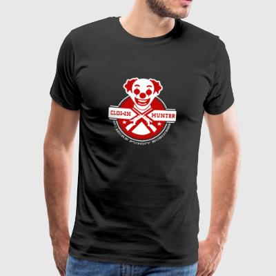 Clown Hunter - No More Funny Business - Premium-T-shirt herr