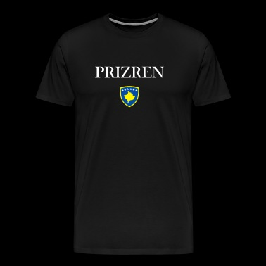 prizren kosovo coat of arms albania shirt albanian - Men's Premium T-Shirt