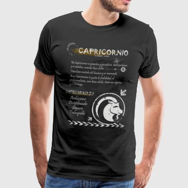 CAPRICORN SIGN - Men's Premium T-Shirt