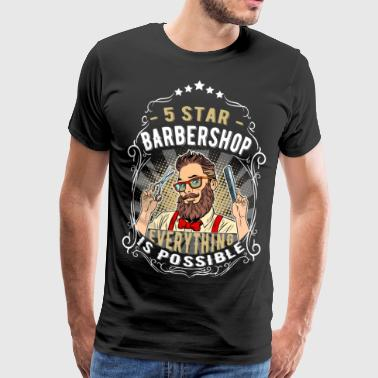 Barbershop hairdresser - Men's Premium T-Shirt