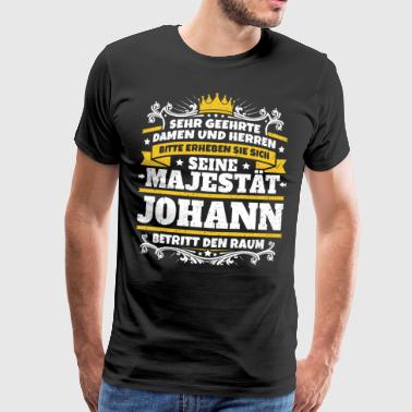 His Majesty Johann - Men's Premium T-Shirt