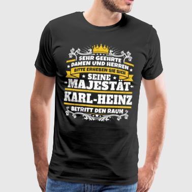 His Majesty Karl-Heinz - Men's Premium T-Shirt