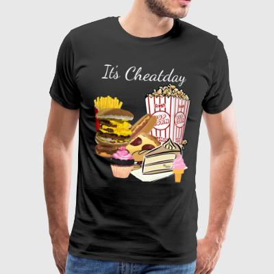 Cheatday - Mannen Premium T-shirt