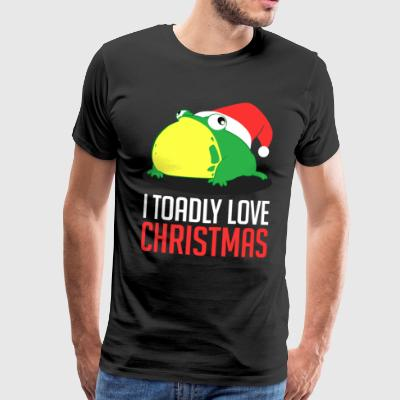 Jag Toadly Love Christmas Xmas Holiday - Premium-T-shirt herr