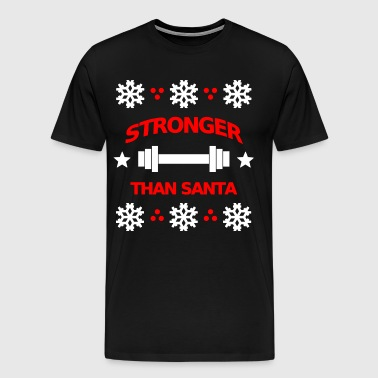 Christmas theme Gift for bodybuilder / sport - Men's Premium T-Shirt