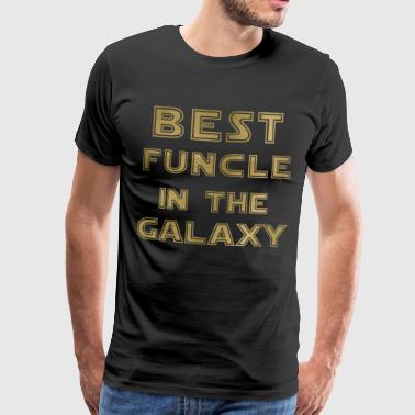 Bedste Funcle i Galaxy - Herre premium T-shirt