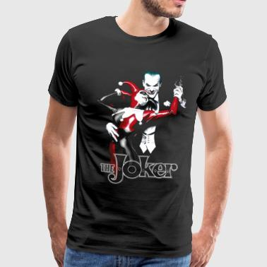 Joker Dance teenage T-shirt - Herre premium T-shirt
