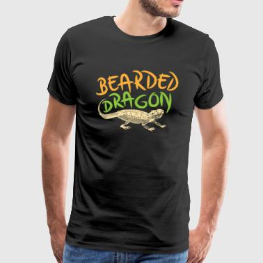 Bearded Dragon shirt - Mannen Premium T-shirt