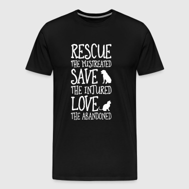 Animal rights animal lover T-shirt pullover - Men's Premium T-Shirt