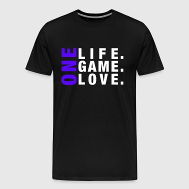 ONE LIFE. ONE GAME. ONE LOVE. - Men's Premium T-Shirt