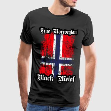 Trve / True Norwegian Black Metal - Premium-T-shirt herr