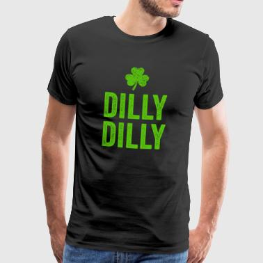 Dilly Dilly St. Patricks Day t-shirt gave - Herre premium T-shirt