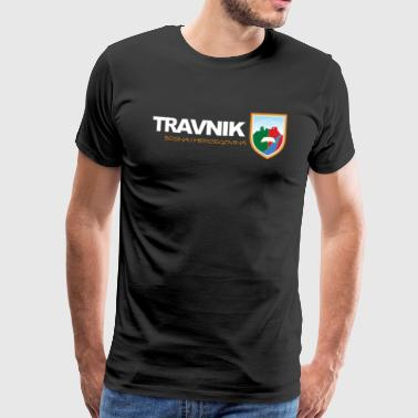grad Travnik - Premium T-skjorte for menn