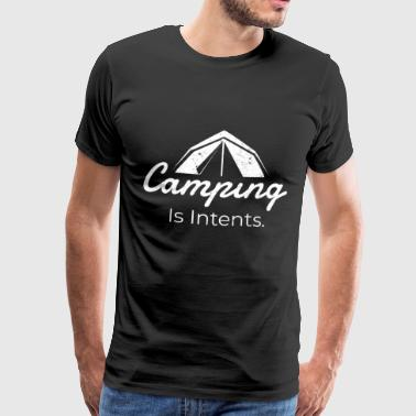 camping - T-shirt Premium Homme