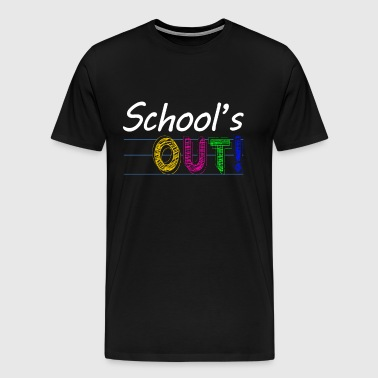 SCHOOL'S OUT Holiday Gift - Men's Premium T-Shirt