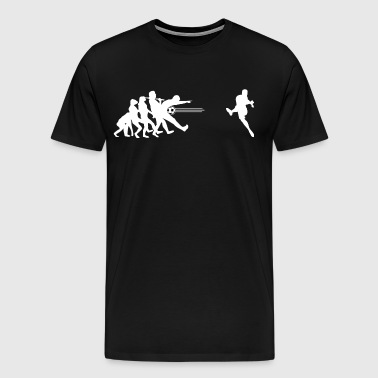Soccer Soccer Evolution - Goal - Men's Premium T-Shirt