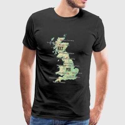 Uk Atlas - Men's Premium T-Shirt