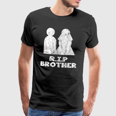 rip brother used look - Men's Premium T-Shirt