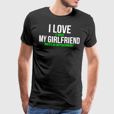 Funny Cryptocurrency Girlfriend T-shirt - Camiseta premium hombre