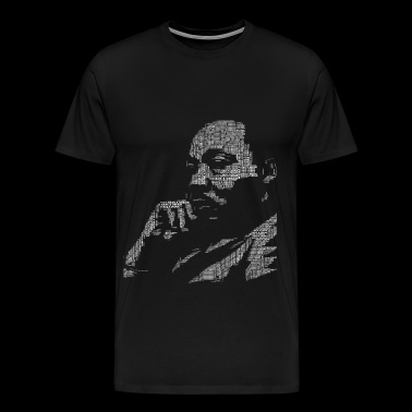 MArtin luther King i have a Dream Black power anti - Men's Premium T-Shirt