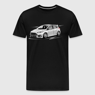 Focus MK3 RS without driver - Men's Premium T-Shirt