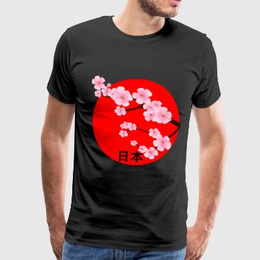Japan Kirschblueten Azië Japanfan Travel Japan - Mannen Premium T-shirt