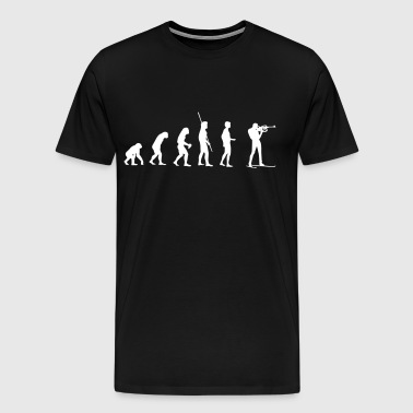 Evolution Biathlon tir - T-shirt Premium Homme