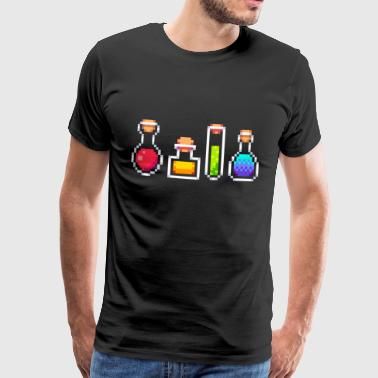 RPG Potions - Herre premium T-shirt